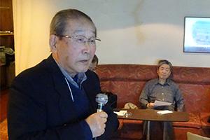 講師の(阪市大名誉教授)磯江幸彦先生